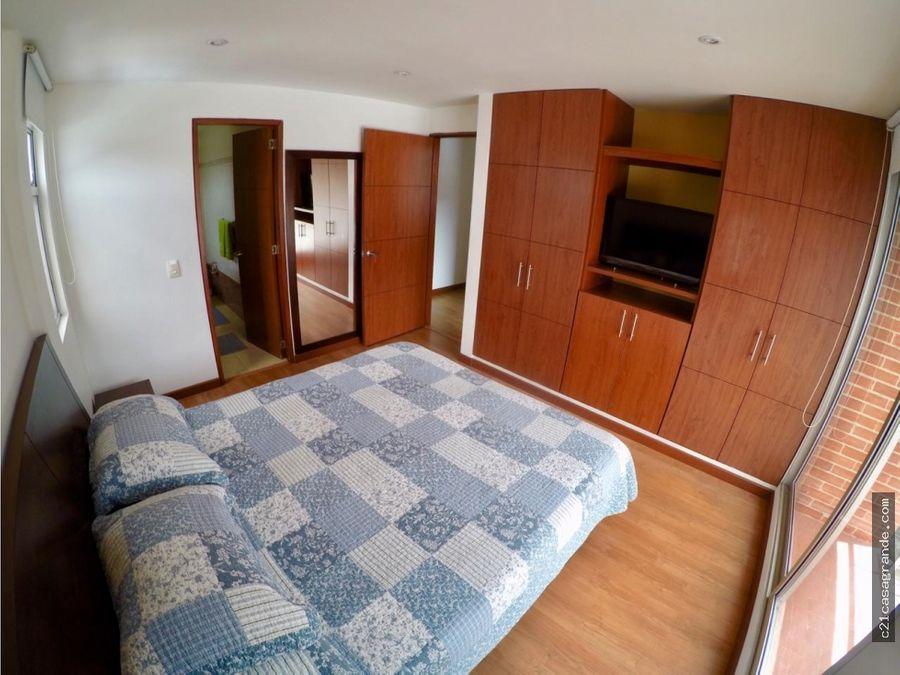 apartamento amoblado santa barbara