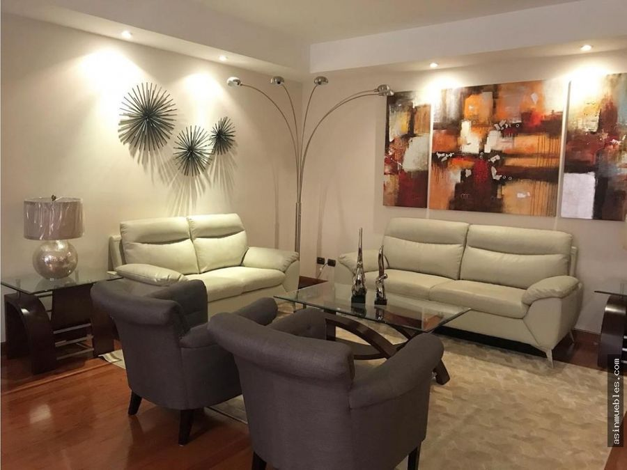 apartamento amueblado 2 habitaciones con balcon