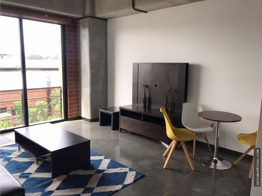 apartamento amueblado en cuatro36 zona