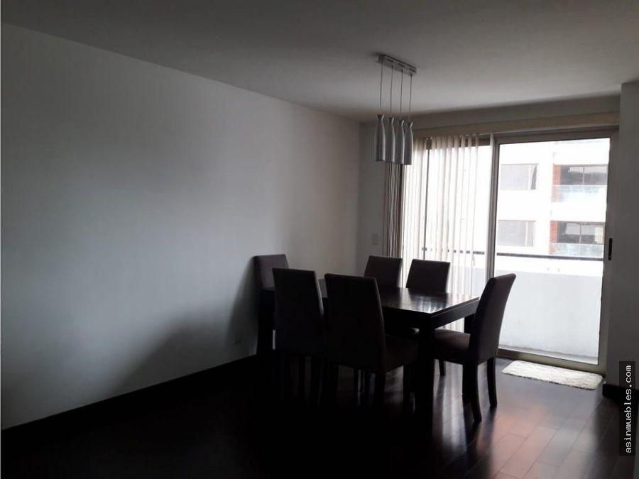 apartamento en attica amueblado 2 habitaciones