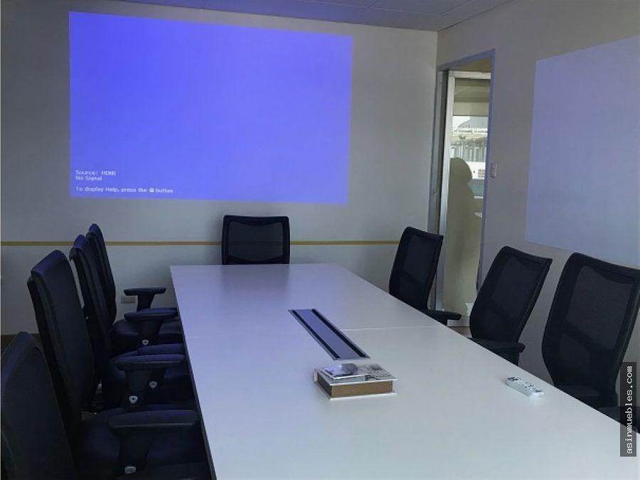 oficina amueblada en zona pradera