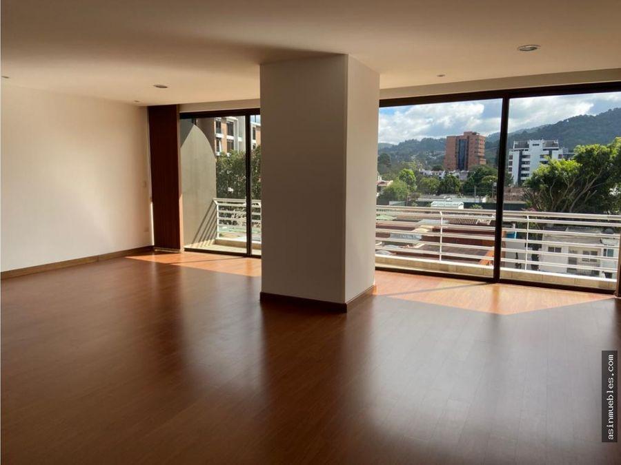 apartamento 3 habitaciones zona 15