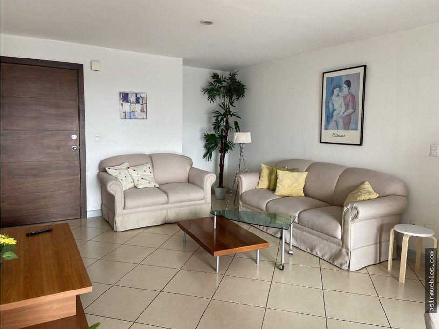 apartamento amueblado 3 habitaciones
