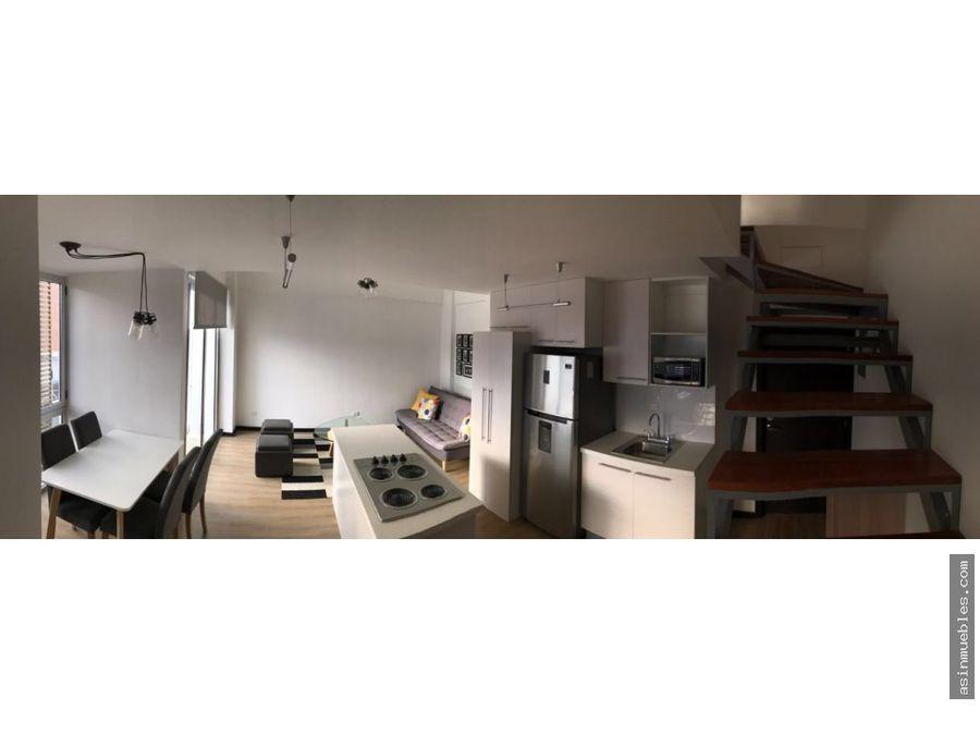 apartamento loft amueblado 1 habitacion
