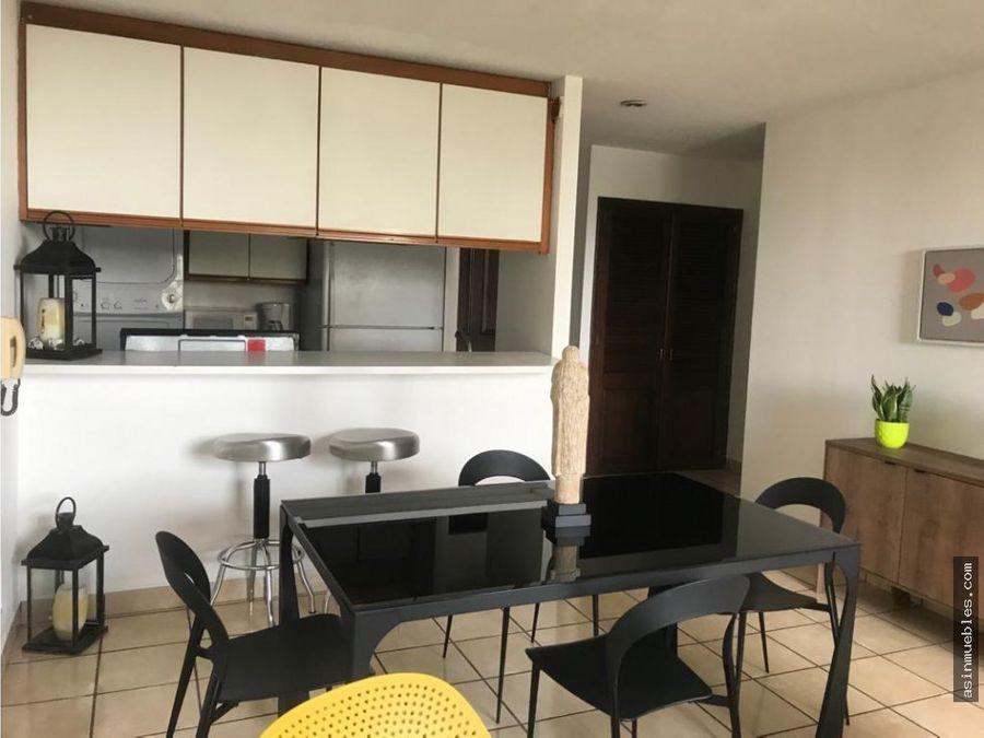 apartamento amueblado 1 habitacion avenida las americas