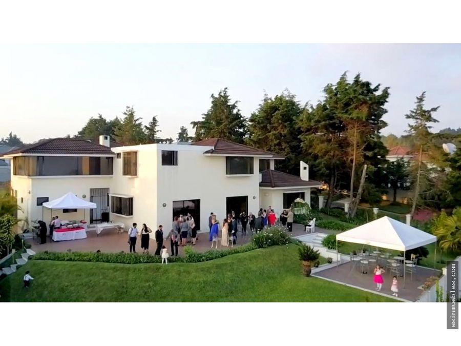 venta condominio casa y campo