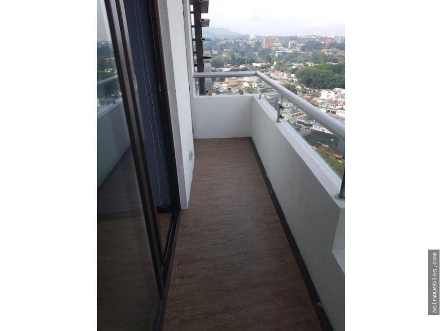 venta apartamento en torre 360 zona 15