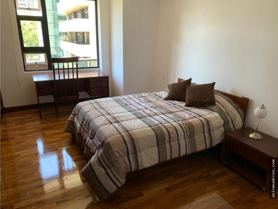 apartamento amueblado 1 habitacion zona 10