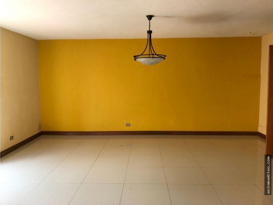 casa en condominio 3 habitaciones zona 15