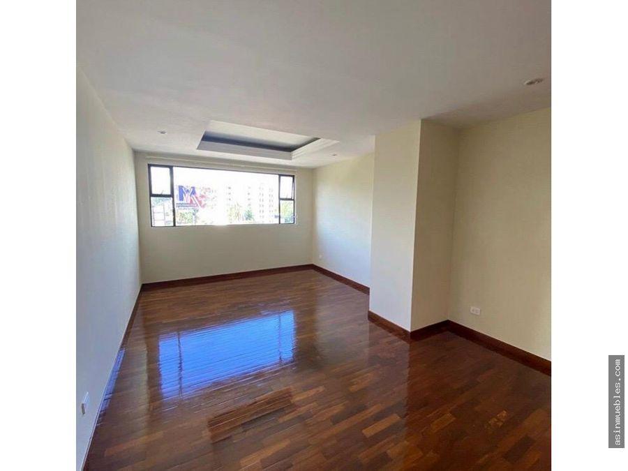 apartamento 2 habitaciones zona 10