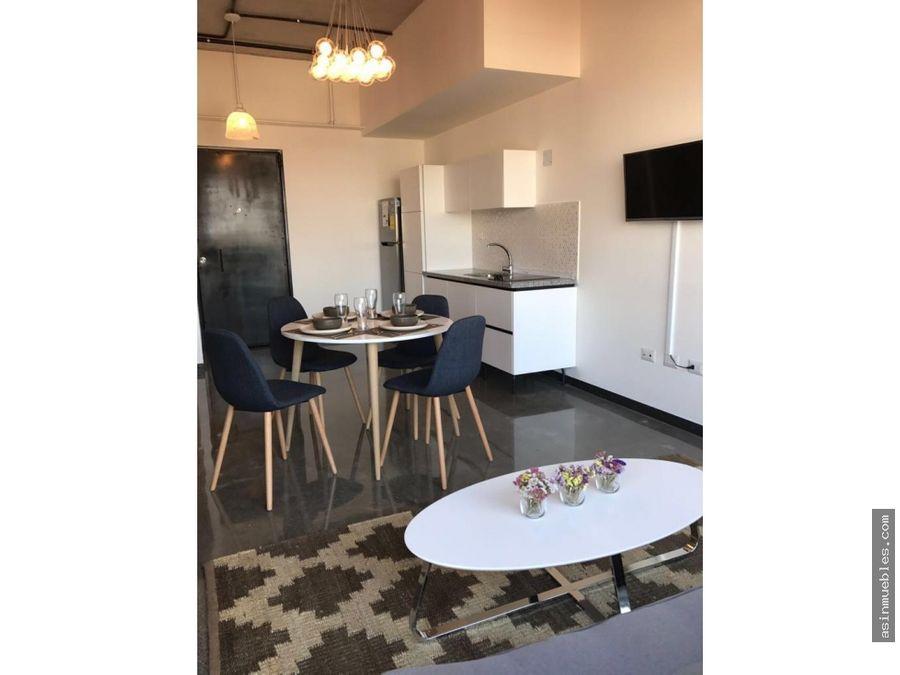 apartamento amueblado 1 habitacion z4