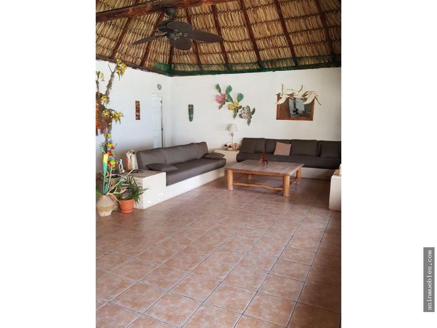 casa en monterrico km128 aldea el gariton