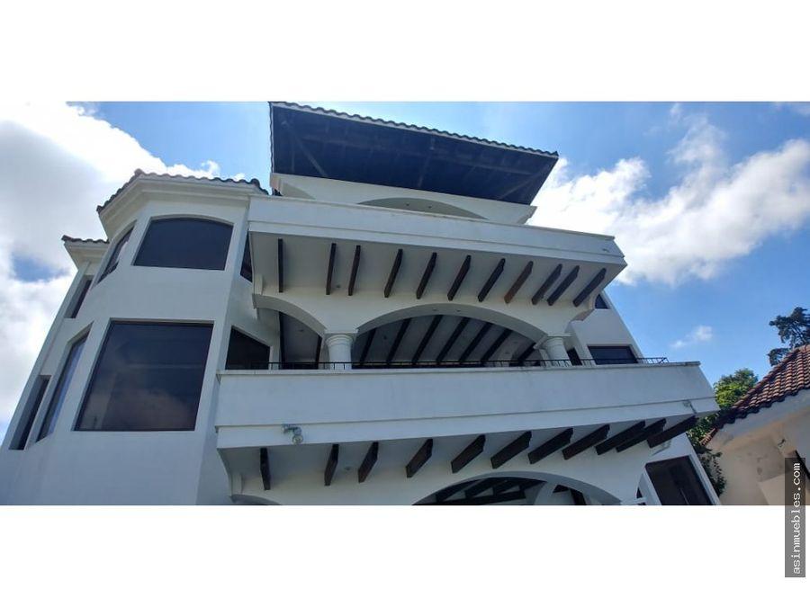 casa en venta 5 habitaciones km95 carretera a el salvador
