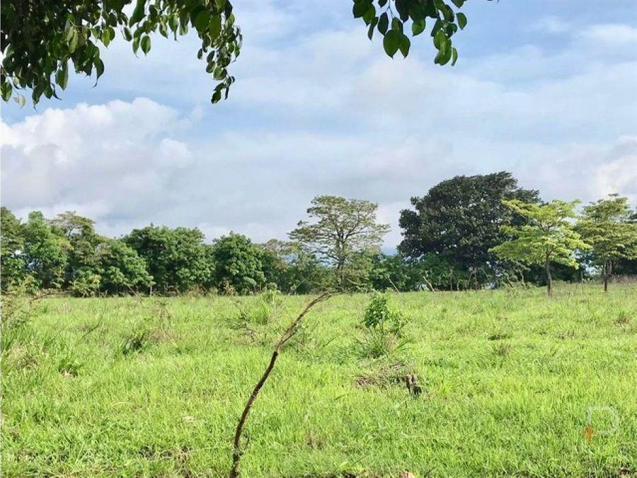 terreno tipo quinta en villas del arroyo guacima