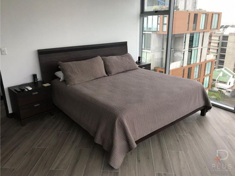 apartamento venta amueblado q bo skyhomes rohrmoser cod jv227
