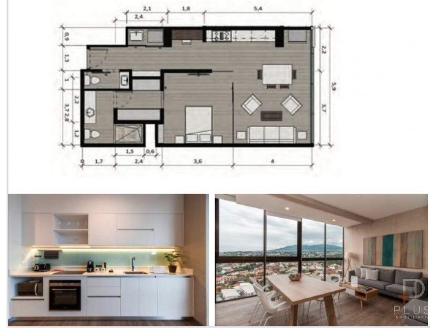 apartamento 1 habitacion venta nest freses curridabat cod jv185