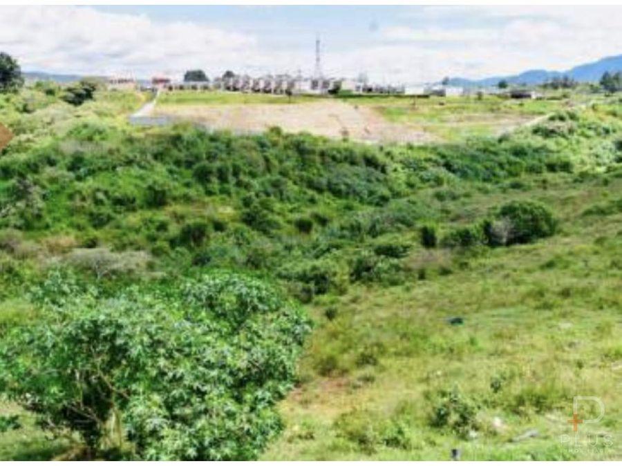 terreno para desarrollo inmobiliario venta paraiso cartago jv172