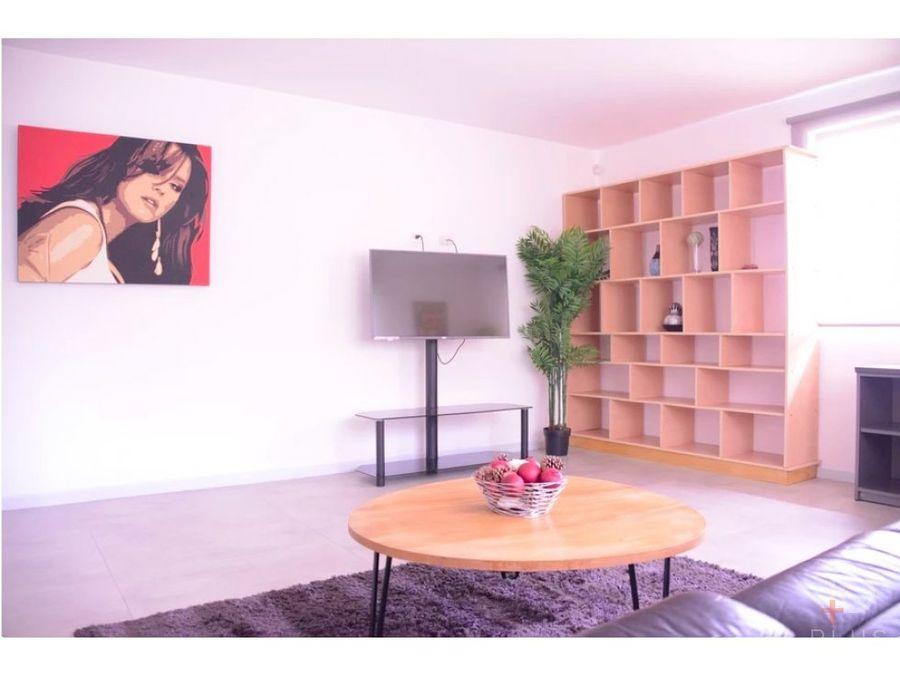 apartamento amplio moderno totalmente amueblado