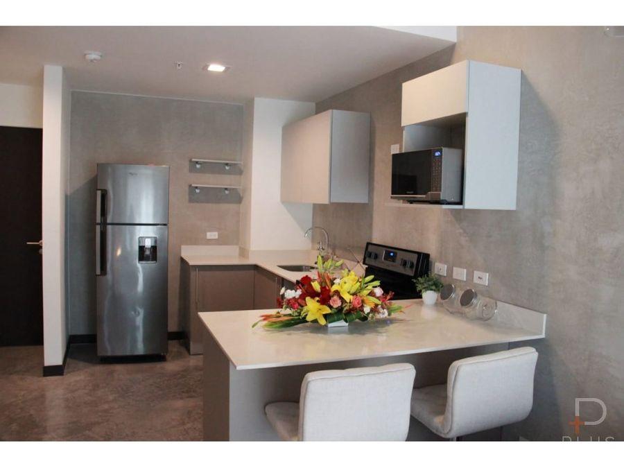 apartamento amueblado 1 habitac rohrmoser alq jv10