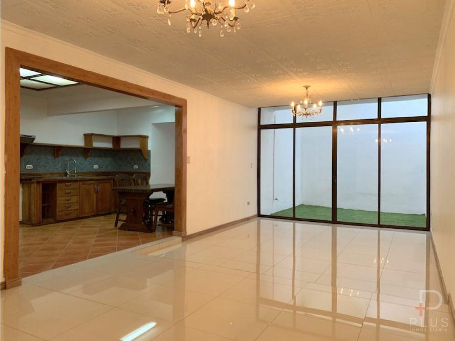 casa alquiler trejos montealegre 3 habitaciones em372