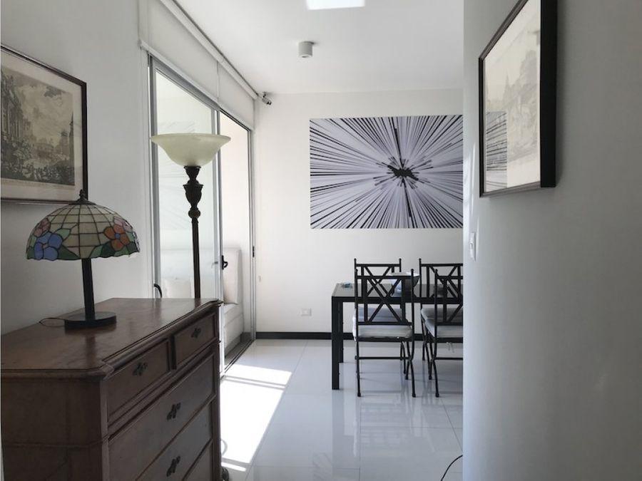 apartamento en alquiler en santa ana amueblado