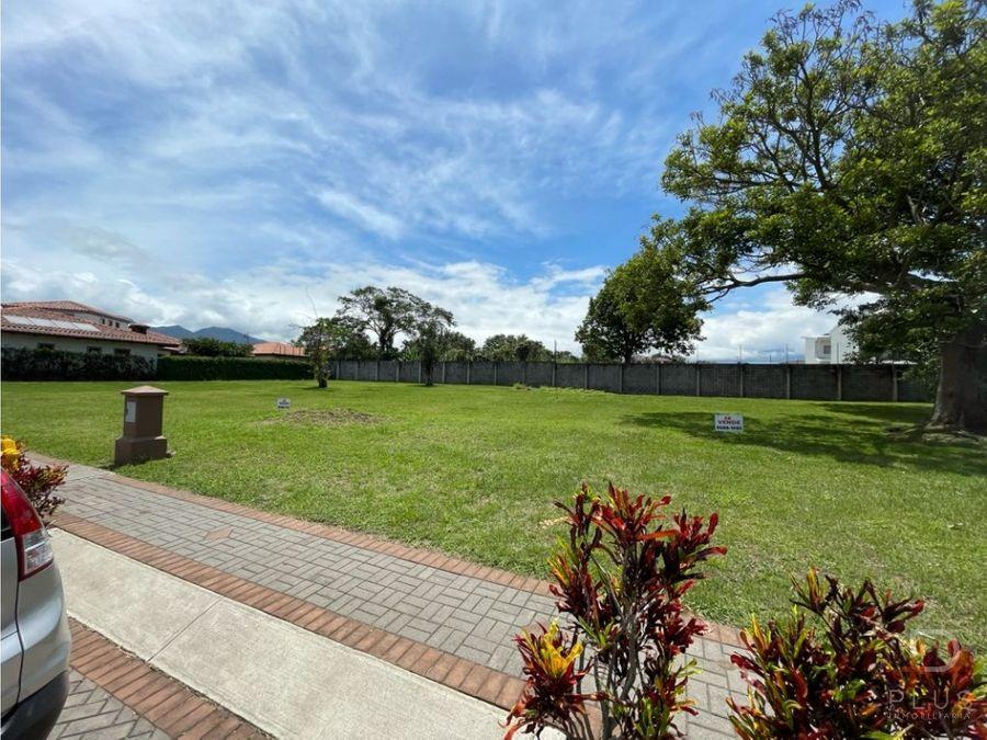lote residencial venta condominio la hacienda heredia cod ob88