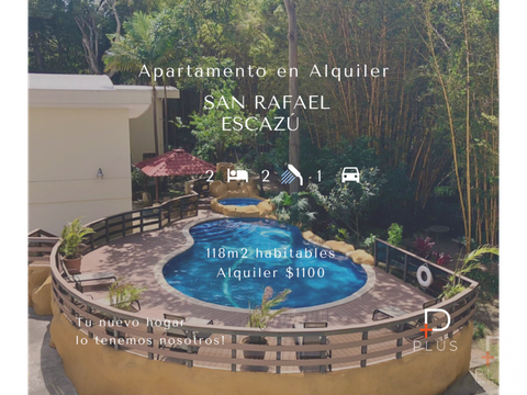 apartamento alquiler san rafael escazu rc151