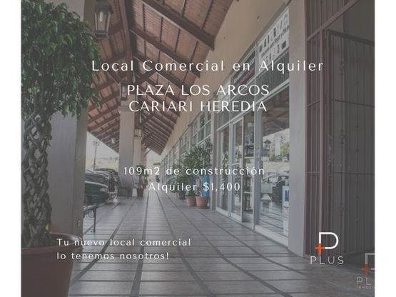 local alquiler plaza los arcos cariari heredia rc163
