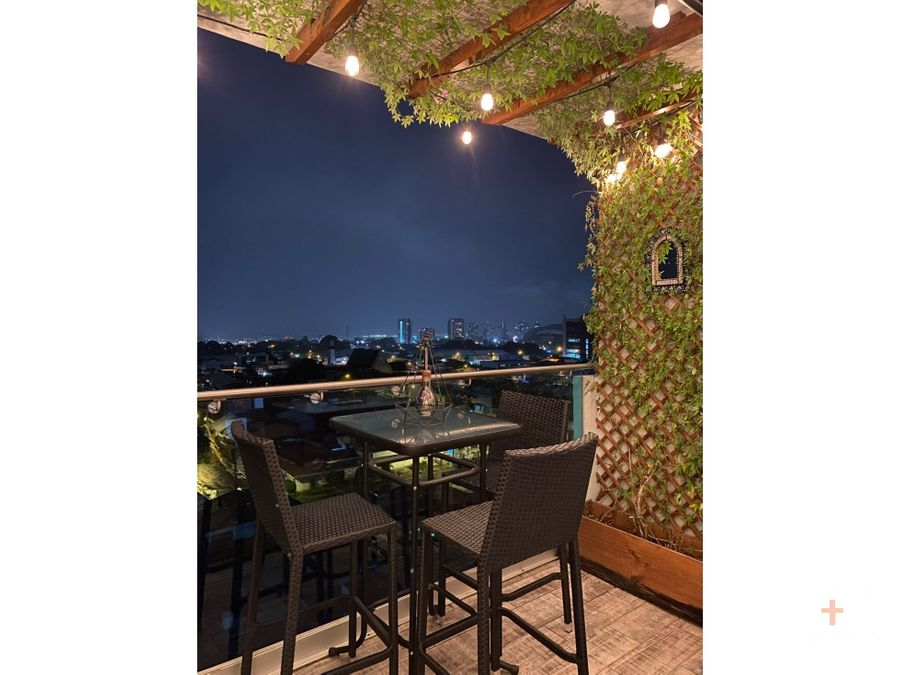 apartamento amueblado alquiler ambar torre sabana jv263