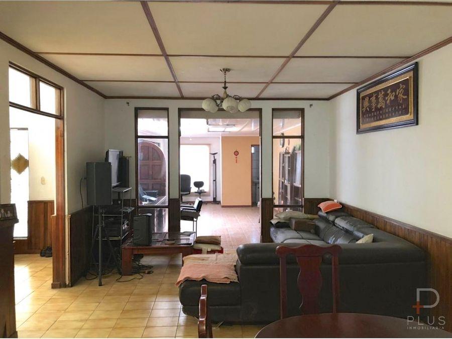 casa venta geroma rohrmoser 4 habitaciones cod jv182
