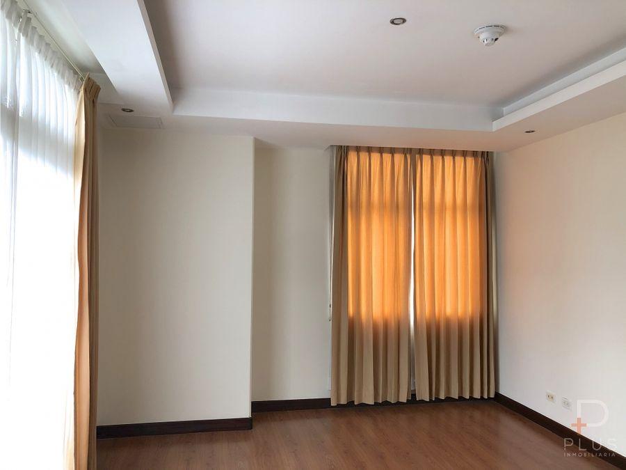 apartamento 210m2 altos de nunciatura alquiler 3 habitac cod jv199