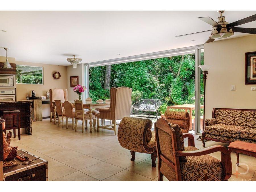 casa moderna en venta en condominio en santa ana 4 habitaciones am237
