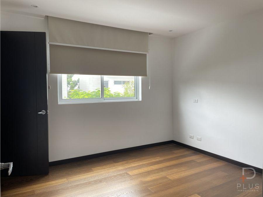 casa alquiler bosques de carao santa ana 3 habitaciones cod jv270