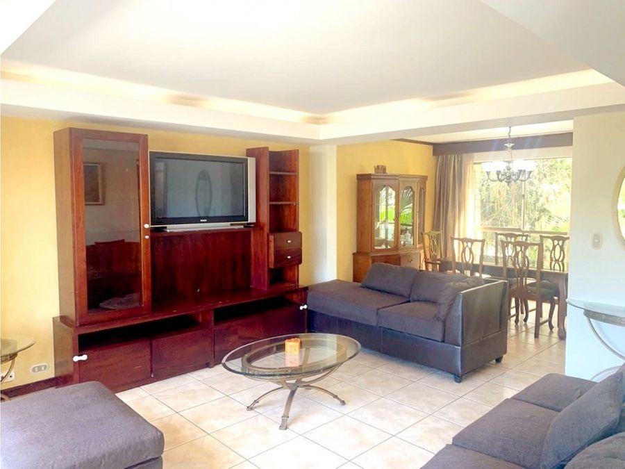 apartamento amueblado venta o alquiler tibas jr24