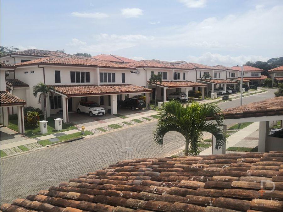 casa patio 3 habitac venta en condominio ciudad colon san jose rc158