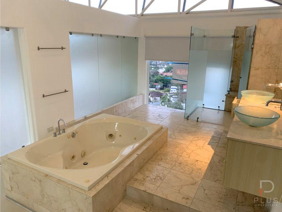 penthouse alquiler jaboncillos escazu 304m2 vista panoramica cod em396