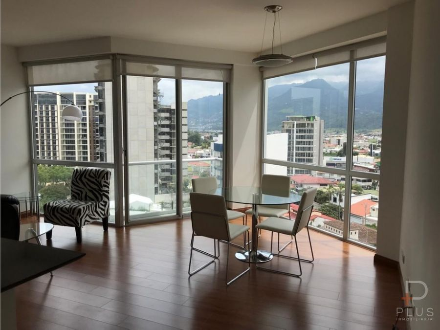 apartamento amueblado alquiler vistas de nunciatura rohrmoser am227