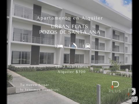 apartamento alquiler santa ana moderno rc124