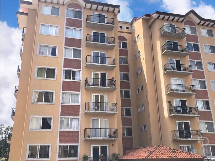 apartamento venta bello horizonte escazu jv93