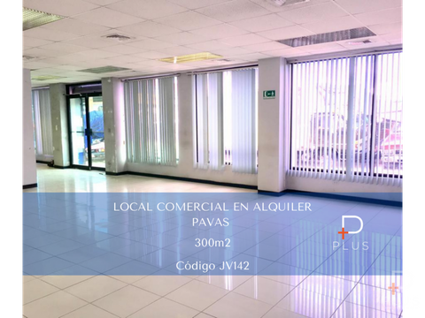 local comercial alquiler pavas 300m2 cod jv142