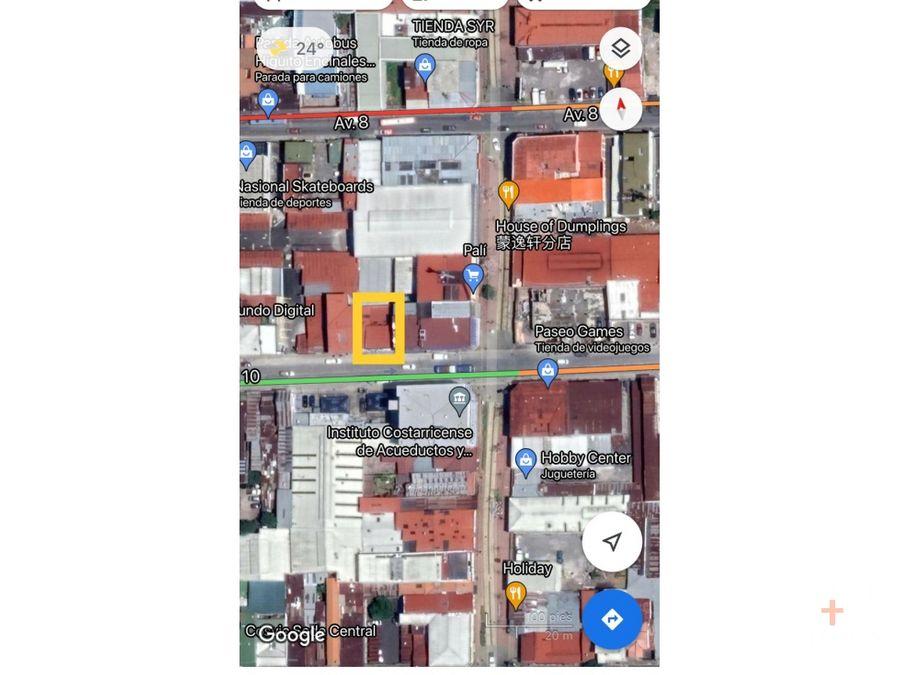 local comercial venta av 1o barrio chino san jose cod jv221