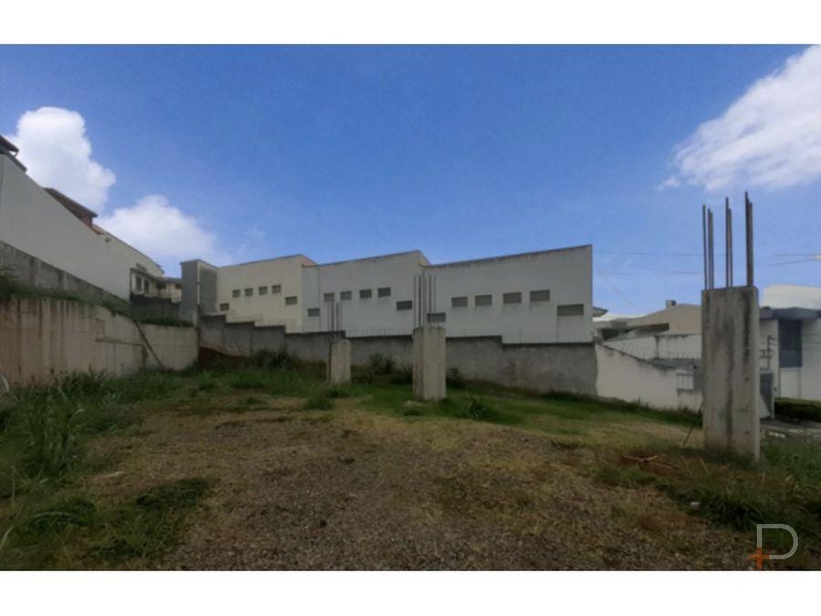 terreno uso mixto para desarrollo montelimar calle blancos cod jv178