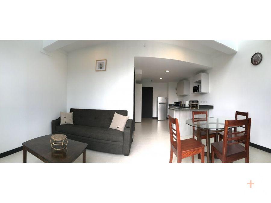 apartamento amueblado con vista panoramica