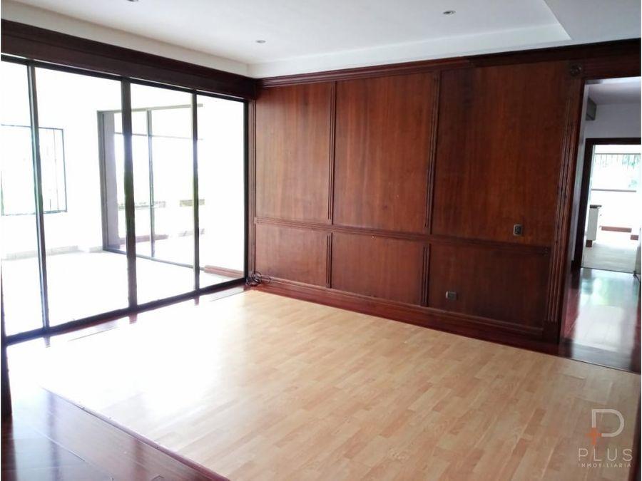 amplio apartamento alquiler linda vista escazu rc175