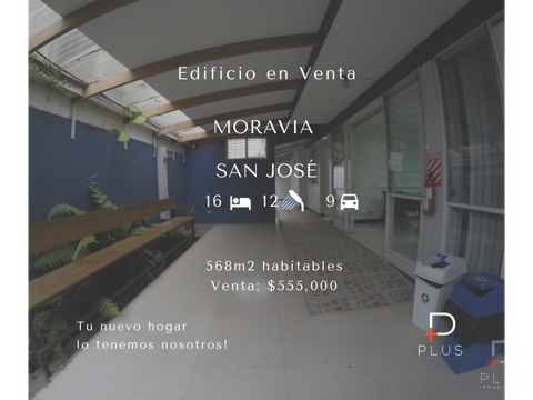 amplio edificio venta moravia san jose as10