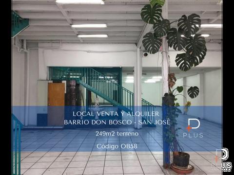 local comercial venta y alquiler don bosco sj cod ob58