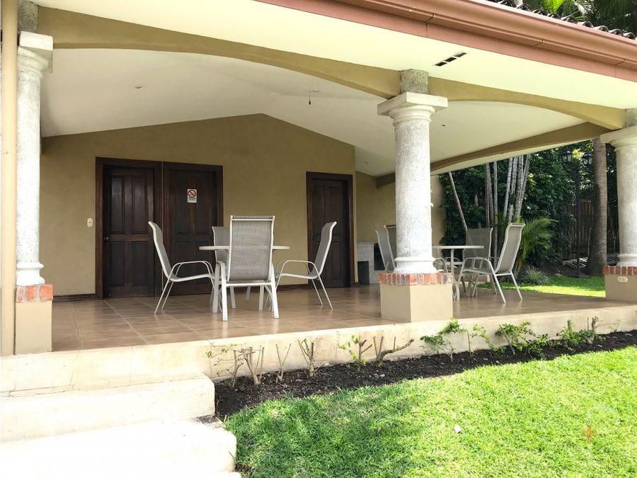 casa venta jaboncillos escazu en condominio em341