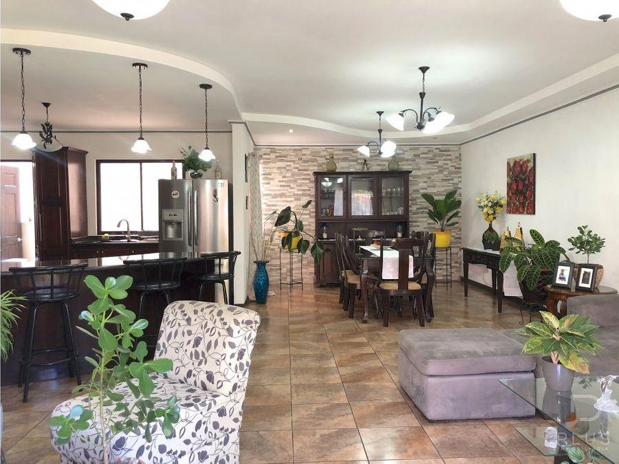casa 1 piso y apartamento independiente venta jv40