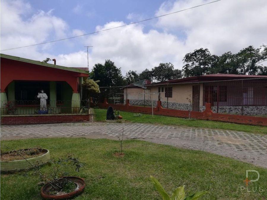 casa en venta en santiago de san ramon de alajuela km03