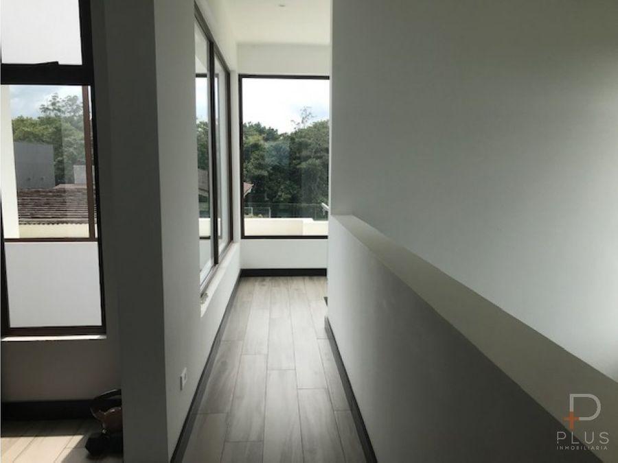 casa moderna y nueva en venta en los reyes la guacima am230